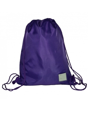 Rucksack Style Gym Bag RS02 Purple