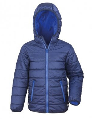 Padded Jacket RS233B Navy/Royal