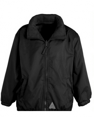 Reversible Jacket Black - Showerproof