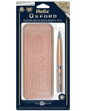 Oxford Maths Set - Rose Gold