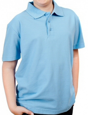 Woodbank Polo Shirt Sky