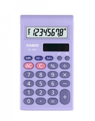 Casio Pocket Calculator SL-460L