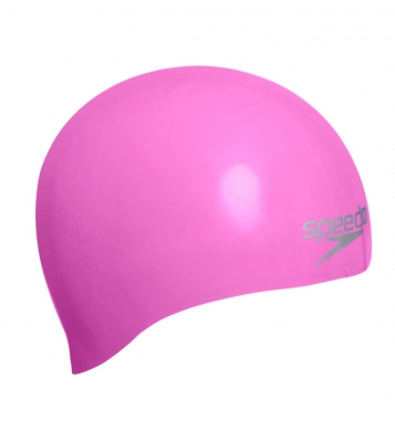 Speedo Senior Moulded Silicone Cap - Pink