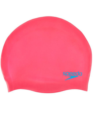 Speedo Junior Moulded Silicone Cap - Pink
