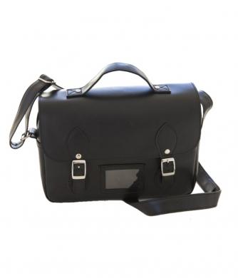 Satchel Lunch Bag Black
