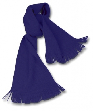 Knitted Scarf Navy