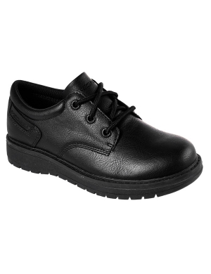 Skechers Gravlen PU Lace Up Junior Shoe
