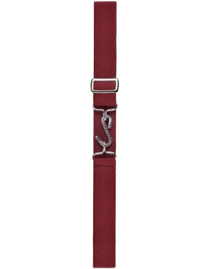 Wiz Adjustable Childrens Snake Belt Maroon