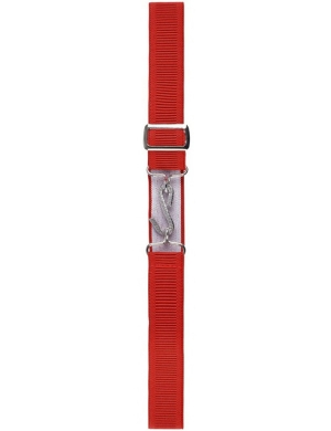 Wiz Adjustable Childrens Snake Belt Red