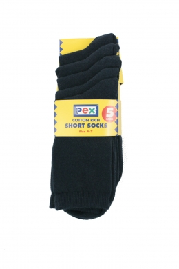 Ankle Socks 5 pack Navy