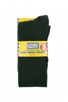 Knee High Socks 2 pack Bottle