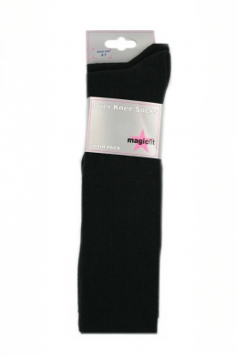 Over The Knee Socks 2 pack Black