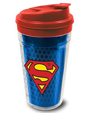 Superman Reflection Insulated Travel Mug 15oz