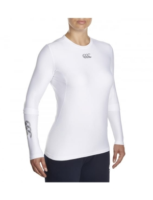 Canterbury ThermoReg Baselayer Top Ladies White