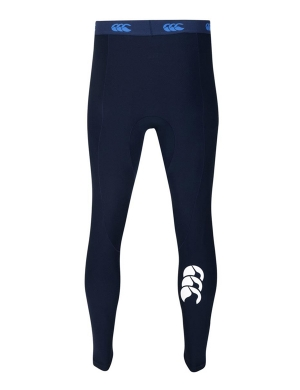 Canterbury ThermoReg Baselayer Leggings Boys & Mens Navy
