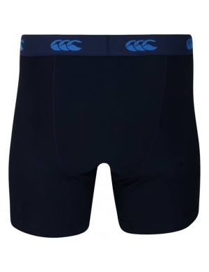 Canterbury ThermoReg Baselayer Shorts 6 inch Boys & Mens Navy