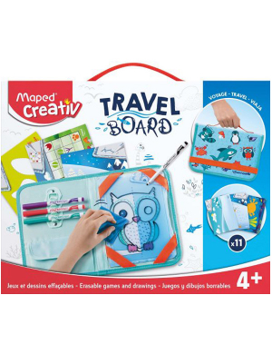 Maped Creativ Travel Board - Animals
