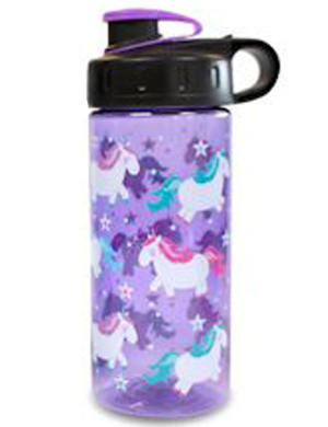 Cool Gear Straightwall Unicorns Bottle 16oz