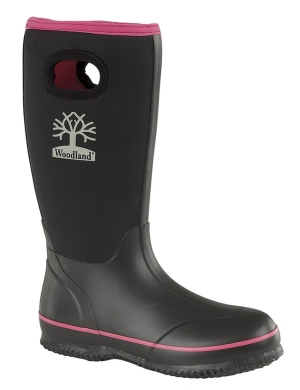 Woodland Women's Neoprene W395A Wellington Boots