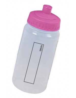 BWB18 EcoPure Drink Bottle with Dust Cap 500ml Pink
