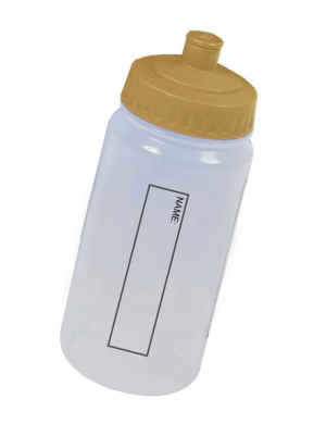 WB13 Drink Bottle with Dust Cap 500ml Gold
