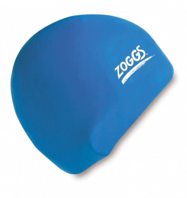 Zoggs Senior Silicone Cap - Royal