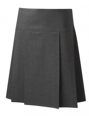 David Luke DL975 Junior Eco-Skirt Grey (Age 3 - 13)