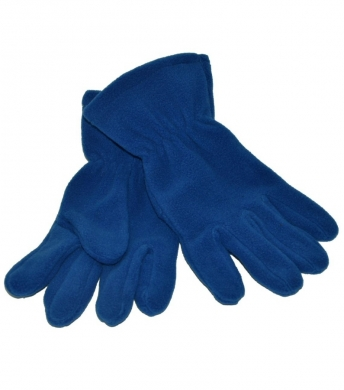 Fleece Gloves Royal