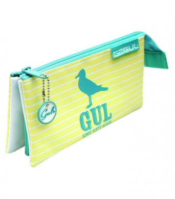 GUL Strip 3 pocket Pencil Case