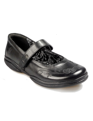 Mira Leather Velcro Strap Shoe (Clearance)