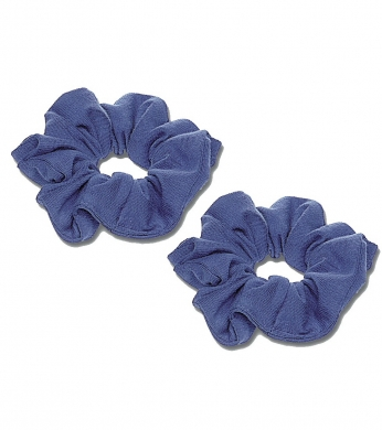 Scrunchie 2pk Royal Blue (Jersey or Velvet)