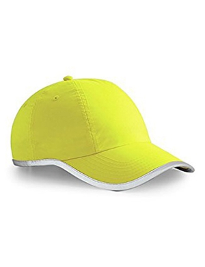 Beechfield Enhanced-Viz BB35 Cap Yellow