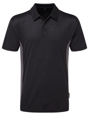 TuffStuff Elite 131 Polo Shirt Black/Grey
