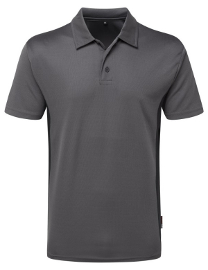 TuffStuff Elite 131 Polo Shirt Grey/Black