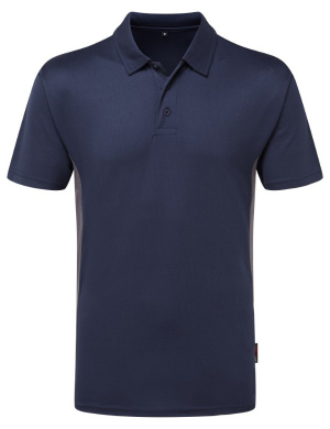 TuffStuff Elite 131 Polo Shirt Navy/Grey