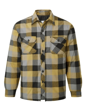 Castle Flint 109 Padded Shirt Yellow