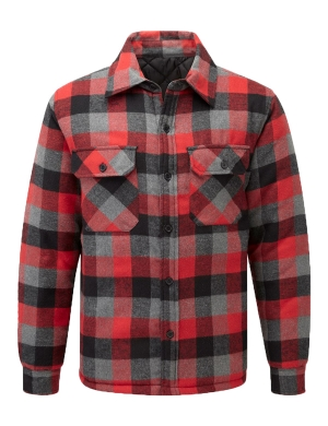 Castle Flint 109 Padded Shirt Red