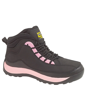 Grafters Ladies L762A Work Boots Black