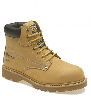 Grafters M124N Work Boots Honey