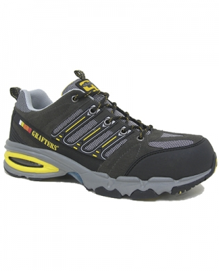 Grafters M129F Work Trainer Grey
