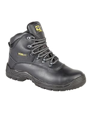 Grafters M216A Work Boots Black