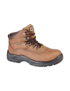 Grafters M216B Work Boots Brown