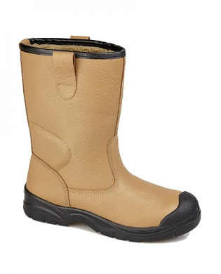 Grafters M239BSM Work Boots Tan