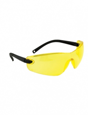 Portwest PW033 Safety Glasses Amber