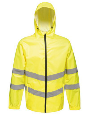 Regatta RG478 Hi-Vis Pro Packaway Jacket Fluorescent Yellow