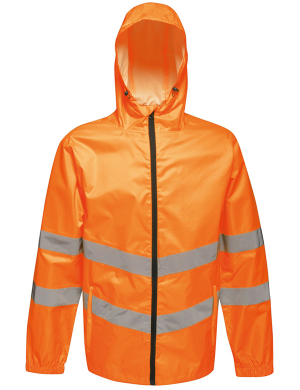 Regatta RG478 Hi-Vis Pro Packaway Jacket Fluorescent Orange