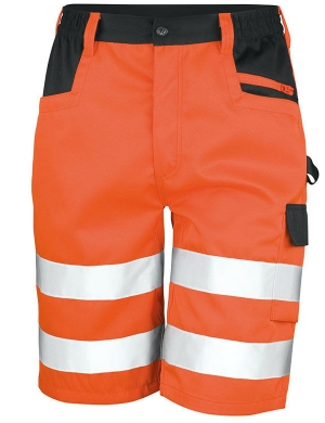 Result Hi-Vis RS328 Safe Guard Cargo Shorts