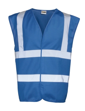 RTY Enhanced Visibility EV86 Waistcoat Royal