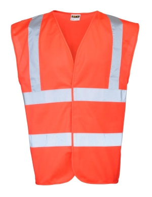 RTY Enhanced Visibility EV86 Waistcoat Red