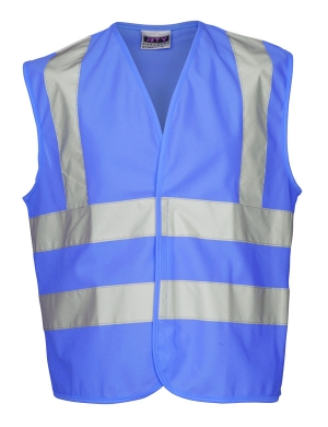 RTY Kids Enhanced Visibility EV87 Vest Blue